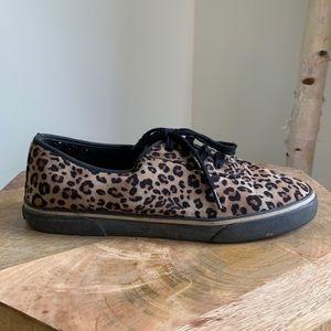 Vintage Cheetah Sneakers size 9
